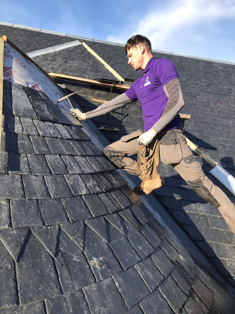 Roofers for Larkhall, Stonehouse, Strathaven, Lesmahagow, Hamilton, Lanarkshire, Wishaw, slating