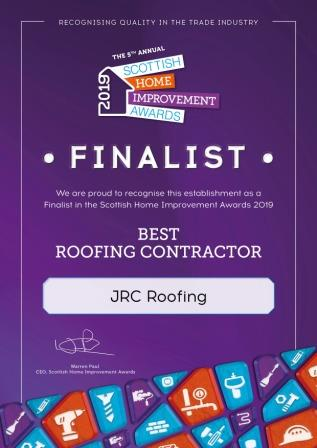 We are now through to final of the Annual  Scottish Home Improvement Awards