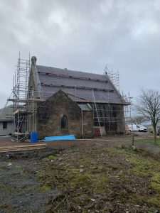 Church re-slate
